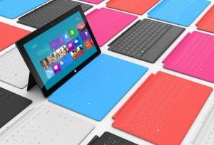 Les tablettes de Microsoft font... Surface