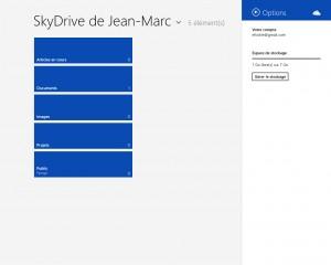 Partagez des documents sur SkyDrive
