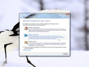 La création de réseaux sécurisés sous Windows 7