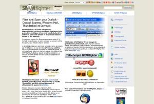 Configurez le filtre anti-spam