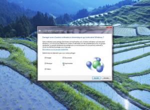 Déployer un groupe résidentiel sous Windows 7 (2/3)