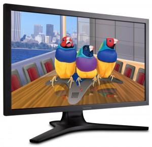 Offrant une grande définition et un large éventail de connecteurs, le moniteur de ViewSonic se destine en priorité aux professionnels de l'image.