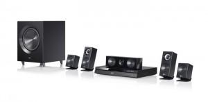 Le kit de LG privilégie le son, puissant, environnant et aux basses particulièrement lourdes