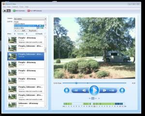 Grâce à WebCamFirst, vous définissez des zones de surveillance