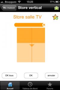 Somfy propose une application iPhone pour piloter votre solution de domotique