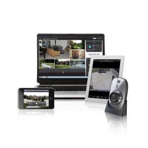 Il existe des dizaines d'applications de vidéosurveillance pour mobiles et tablettes