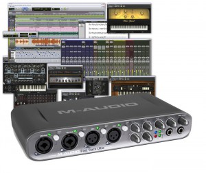 La gamme de M-Audio est riche et s'accompagne de licences complètes pour des logiciels de référence
