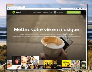 Spotify dispose d'un large assortiment de formules d'abonnement