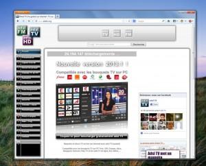 ADSLTV vous permet de profiter des chaînes de votre bouquet ADSL sur votre PC
