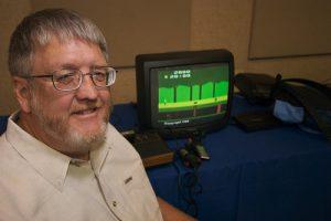 David Crane, l'auteur de Pitfall!, en 2007