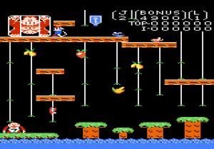 Donkey Kong Jr. introduit de nouveaux éléments de gameplay