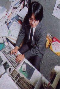 Satoru Iwata chez HAL Laboratory