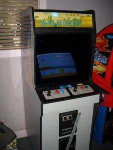 La borne d'arcade Vs. Super Mario Bros.