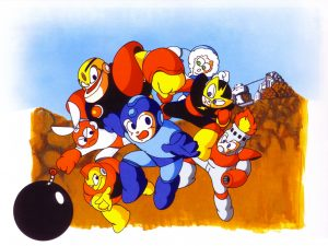 Artwork japonais pour Mega Man
