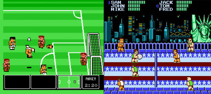 Nintendo World Cup et Super Dodge Ball
