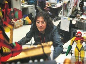 Yoshio Sakamoto dans les locaux de Nintendo, en 2010