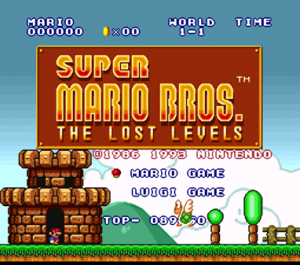 Super Mario Bros: The Lost Levels dans Super Mario All-Stars