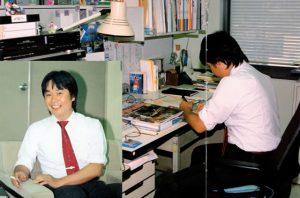 Shigeru Miyamoto à Kyoto, en 1983