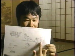 Miyamoto commente ses artworks d'origine, en 2003