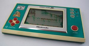 La version Game & Watch de Donkey Kong Jr, en écran large