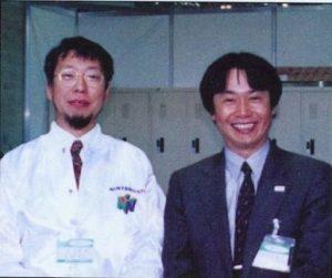 Takashi Tezuka et Shigeru Miyamoto