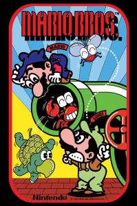 Publicité de 1983 pour le jeu sur borne d'arcade