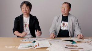 Shigeru Miyamoto et Takashi Tezuka, en 2015