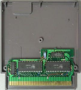L'EPROM au sein d'une cartouche NES/Famicom