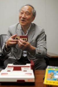 Masayuki Uemura revisite sa Famicom d'antan, en 2011