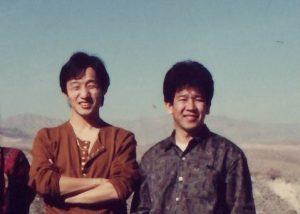 Shinichiro Tomie et Akihiko Shimoji