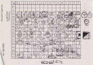 Planche de sprites, 13 février 1985
