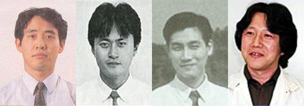 Yoichi Yamada, Kazuaki Morita, Yasunari Nishida et Akito Nakatsuka