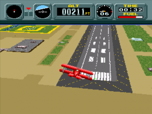 Pilotwings repose fondamentalement sur le mode 7