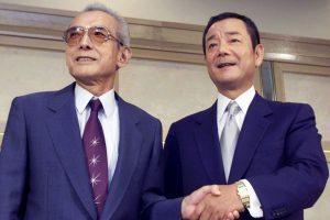 Une rencontre entre Hiroshi Yamauchi et Kagemasa Kozuki, le 2 septembre 1999