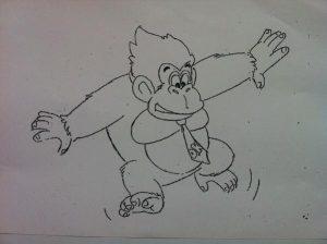 Un schéma préliminaire signé Shigeru Miyamoto