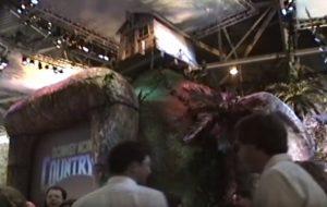 Le stand de Nintendo, au CES 1994, fait la part belle à Donkey Kong Country