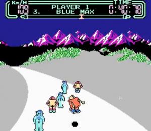 Slalom sur NES (1986)